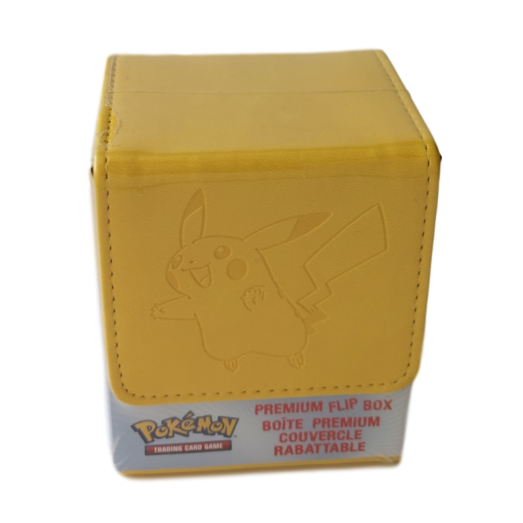 Pokemon TCG Pikachu Flip Box