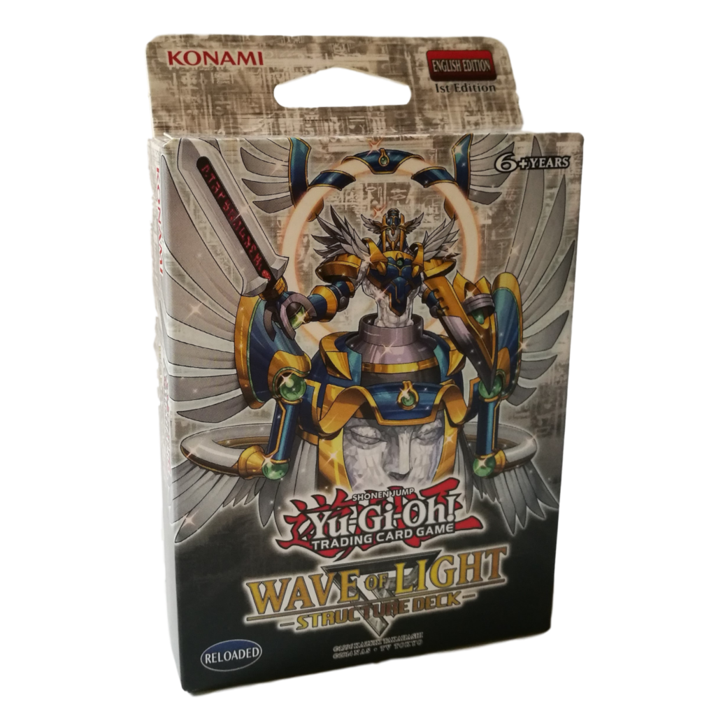 YU-GI-OH WAVE OF LIGHT STRUCTURE DECK 1st ED